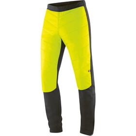 Gonso Montemuro Primaloft Pantaloni da bici ibrida Uomo, giallo